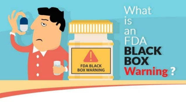 Sharp- What is an FDA black box warning?