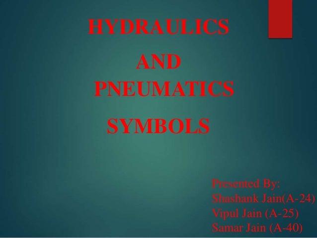 pneumatic and hydraulic symbols