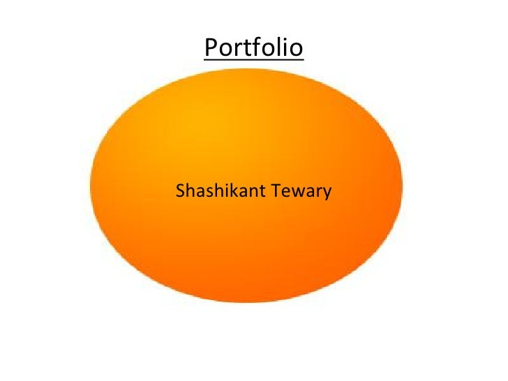 Portfolio     Shashikant Tewary