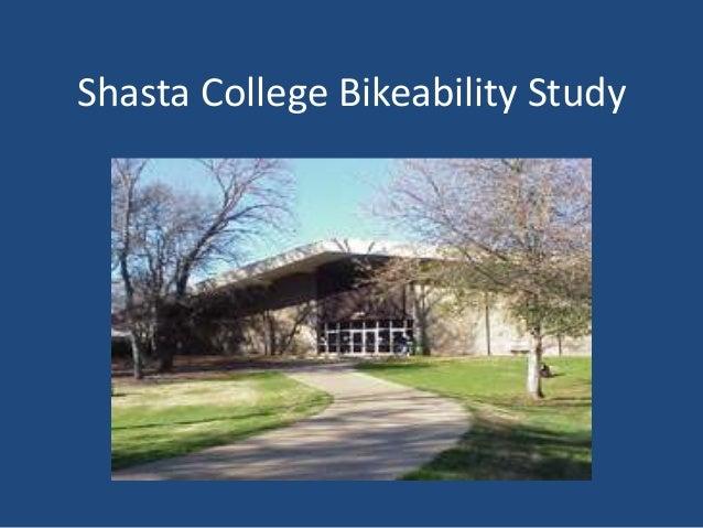Shasta College Bikeability Study
