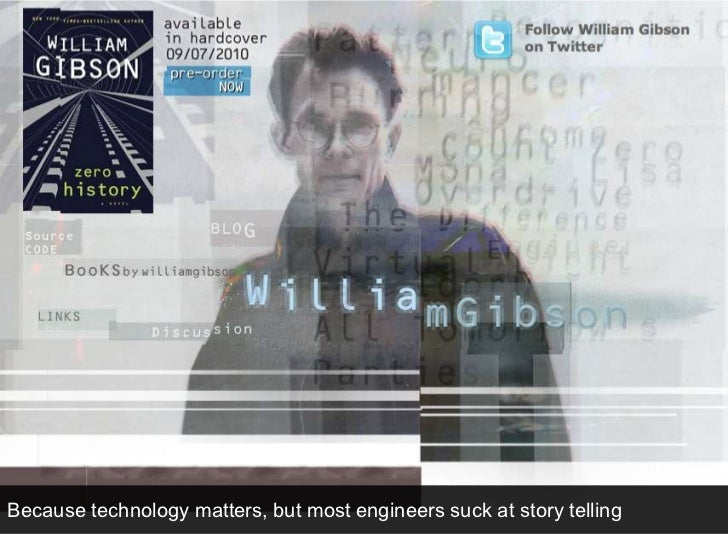 Because technology matters, but most engineers suck at story telling<br />