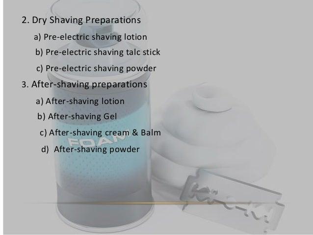 Shaving Preparation