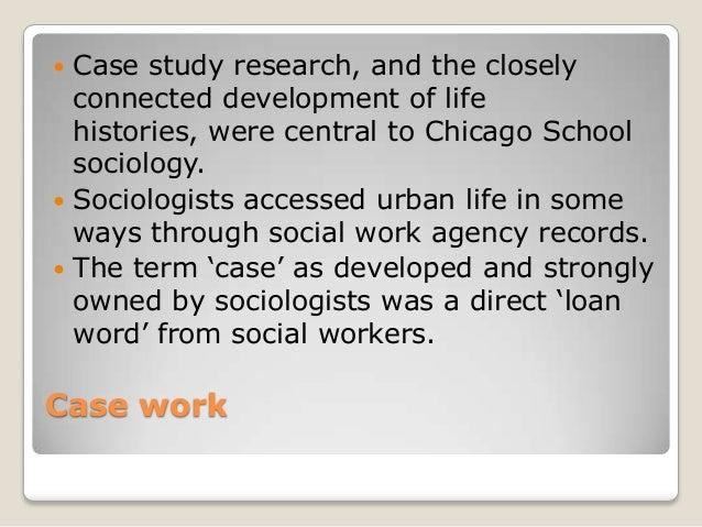 social work essay + case study