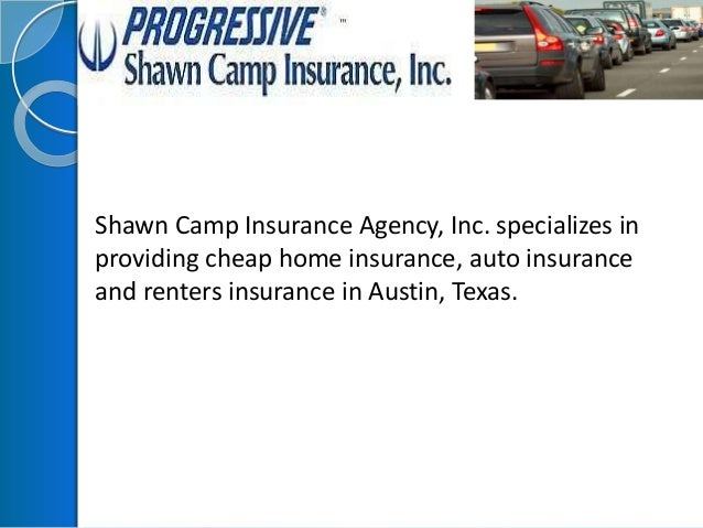 Shawn Camp Insurance Agency, Inc. specializes in providing cheap home insurance, auto insurance and renters insurance in A...