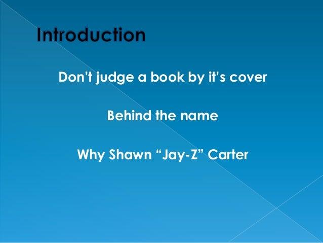 Shawn carter - Jeremy McQuigge Slide 2