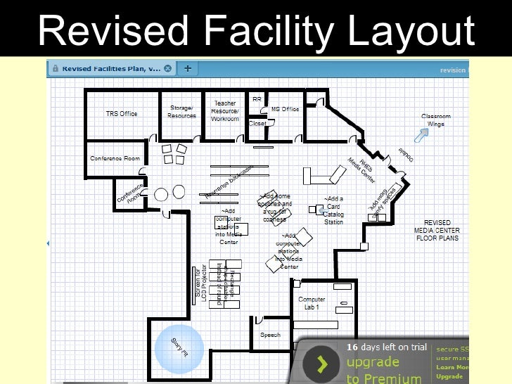 Revised Facility Layout