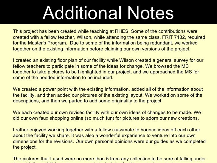 Additional Notes This project has been created while teaching at RHES. Some of the contributions were created with a fello...