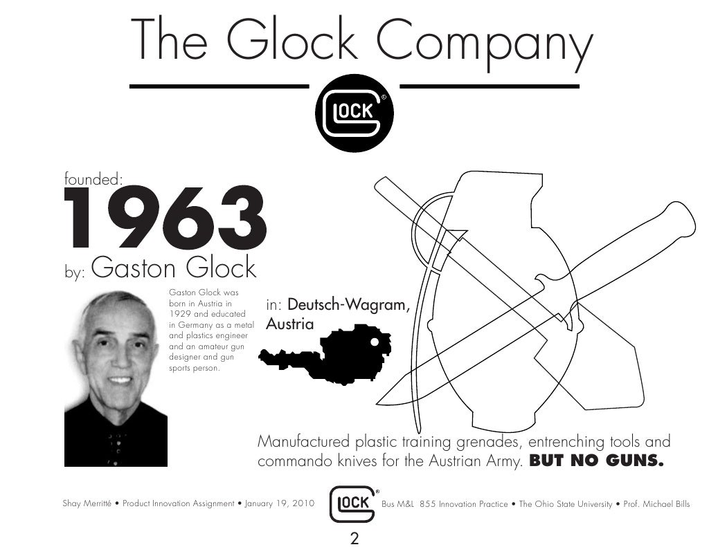 The Glock Company Founded By 17 Diagram