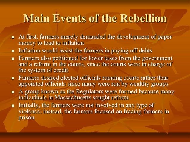 Essay on rebellion