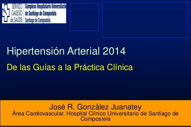 Hipertensión Arterial 2014: De las Guías a la Práctica