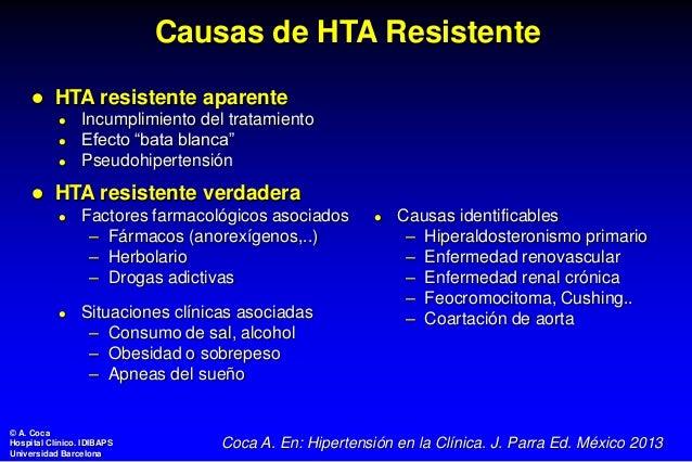 Hipertensión Arterial Resistente Fisiopatología y
