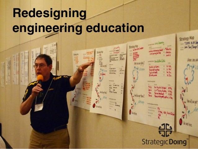 Redesigning engineering education