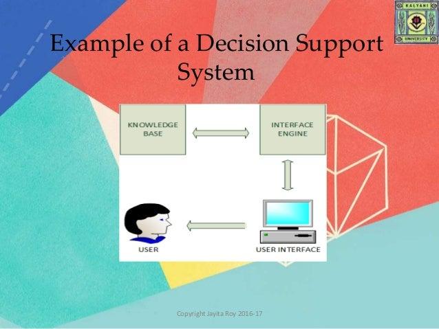 decision support system. Black Bedroom Furniture Sets. Home Design Ideas