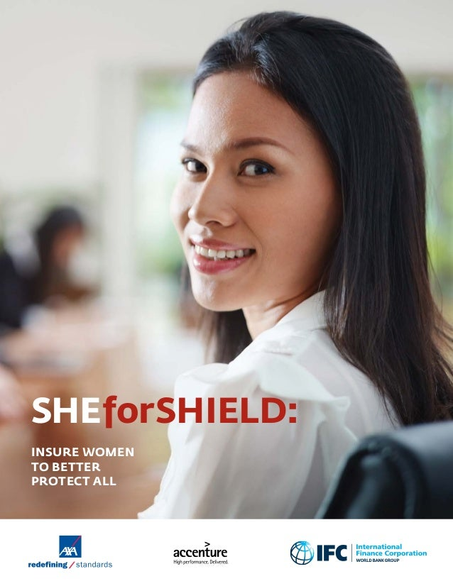 SHEforSHIELD: INSURE WOMEN TO BETTER PROTECT ALL