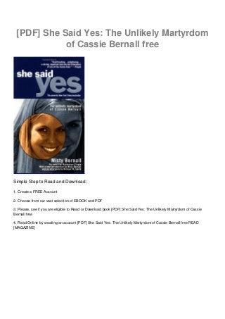 I said yes pdf free download windows 10