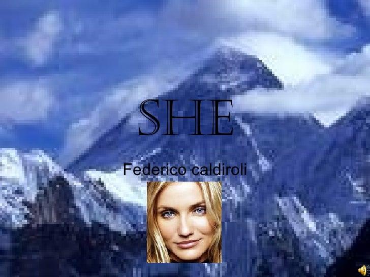 she Federico caldiroli