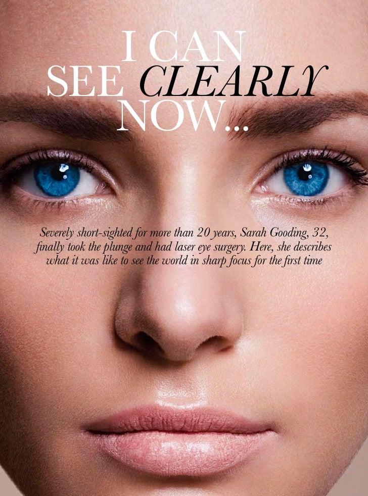 She Magazine Laser Eye Surgery Article