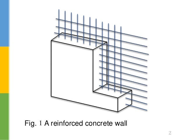 1 A Reinforced Concrete Wall ...