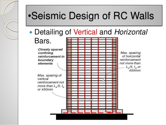 impact of seismicity on performance of rc shear wall New capacity design methods for seismic design of ductile rc shear walls view/ open nr83301pdf (7 their formulation appears deficient in accounting for the higher mode amplification effects first a seismic performance assessment of a realistic ductile shear wall system designed.