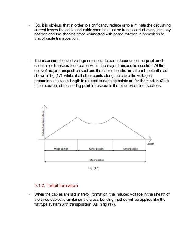 Sheath bonding method for underground cables
