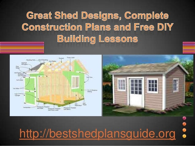 Simple Shed Plans For All Sizes Free Online Or Download