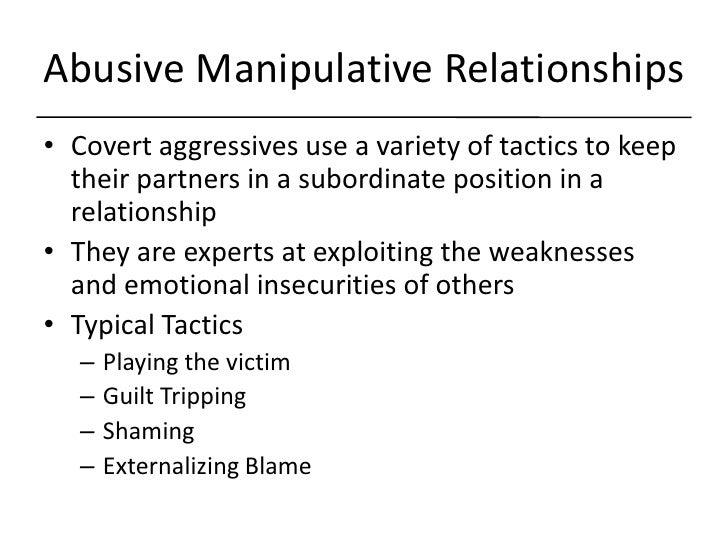 How To Handle A Manipulative Boyfriend