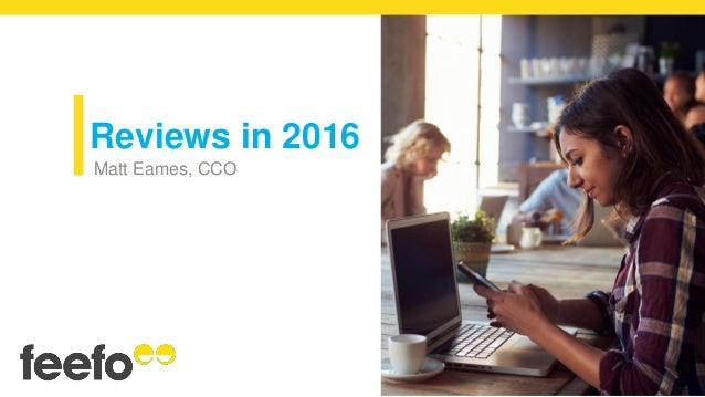 Reviews in 2016 Matt Eames, CCO