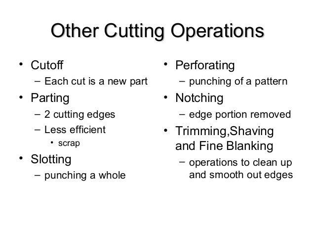 Sheet Metal Forming Slide 2