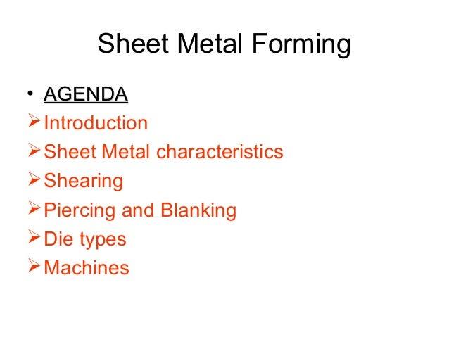 Sheet Metal Forming Slide 3