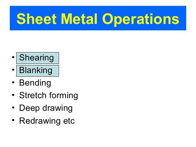 Sheet Metal Forming Slide 7