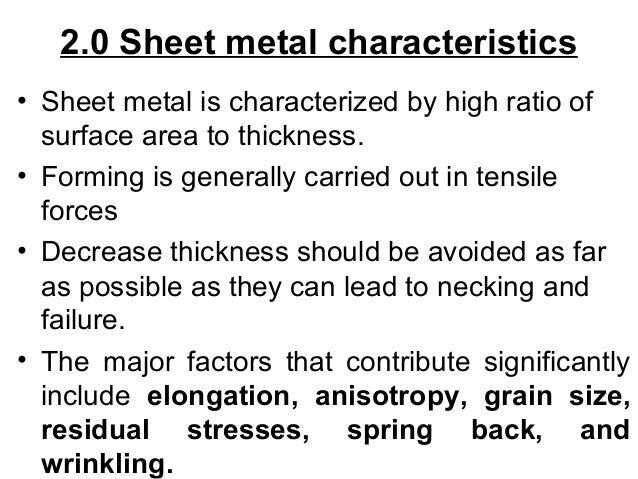 Sheet Metal Forming Slide 8