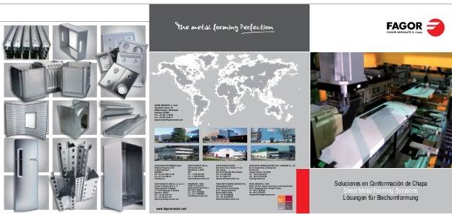 Soluciones en Conformación de Chapa Sheet Metal Forming Solutions Lösungen für Blechumformung