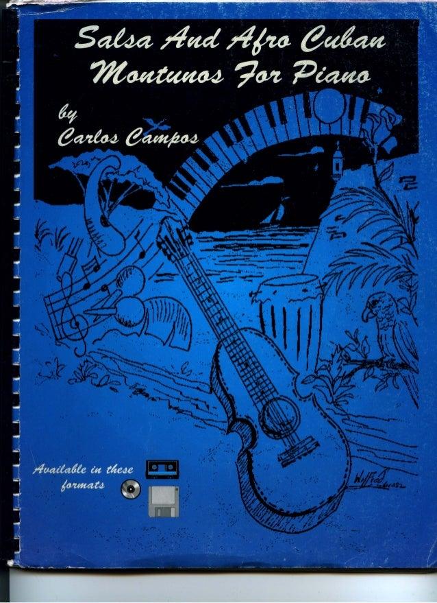 Piano salsa & afro cuban montunos for piano