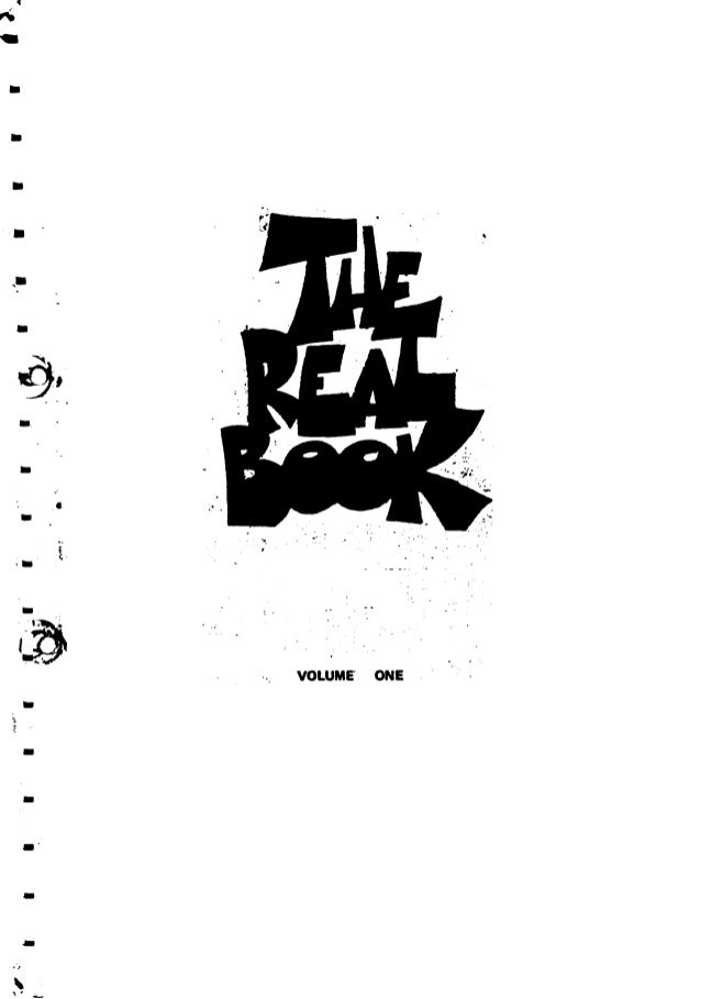 Errata of the Real Book 1) p. 140 Equipose Meas. 4: the second G should be an F 2) p. 151 The Fields We Know Meas. 8: shou...