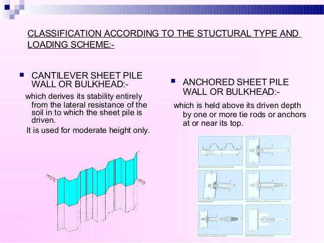 Sheet Pile And Bulkhead Usefulsearch Org Useful Search
