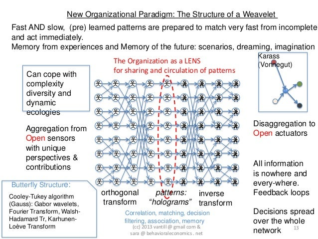 New Organizational Paradigm: The Structure of a WeaveletFast AND slow, (pre) learned patterns are prepared to match very f...