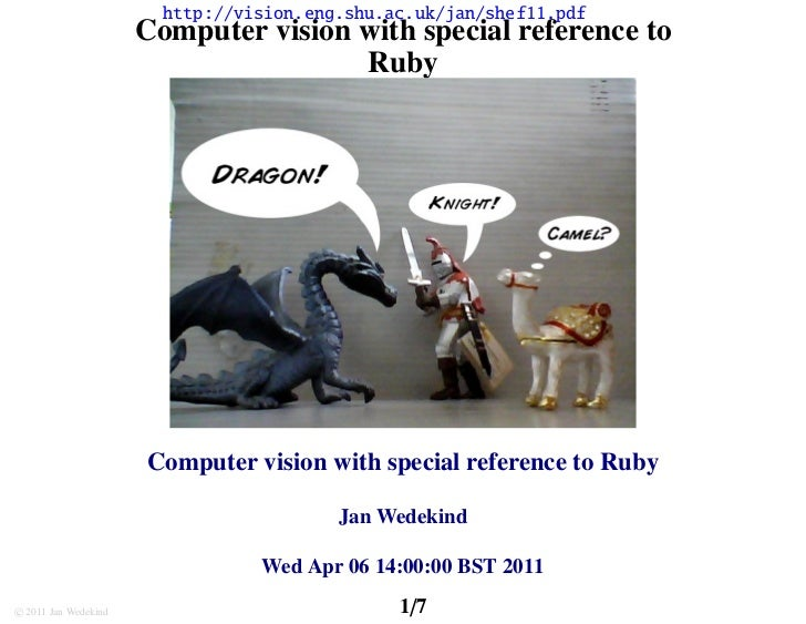 http://vision.eng.shu.ac.uk/jan/shef11.pdf                      Computer vision with special reference to                 ...