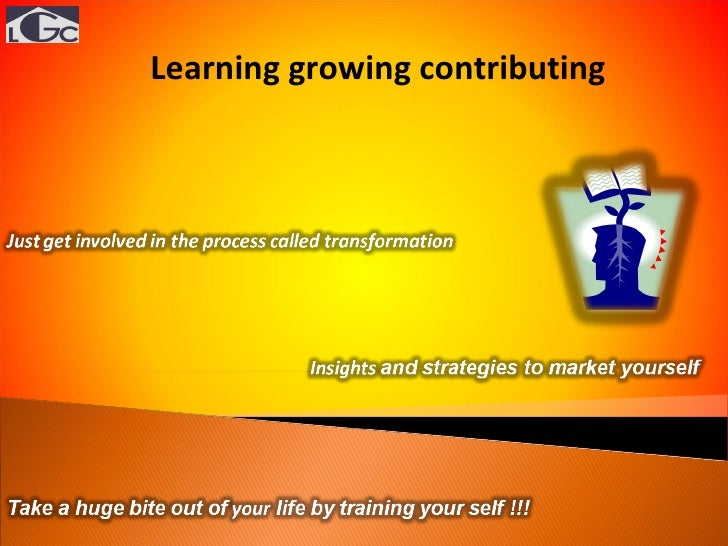 Learning growing contributing