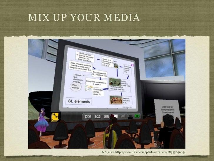 MIX UP YOUR MEDIA           N Speller http://www.flickr.com/photos/spellers/2833505085/