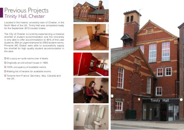 Sheffield Brochure Of Student Accomodations From Yi Jung Jin