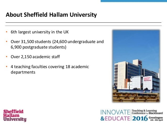 Sheffield Hallam University Blackboard Login - loginee.com