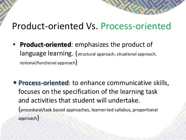 process vs product Since neither the production nor measurement processes are perfect, there will always be some dispersion in the observed product value either for repeated measurements of one item or for measurements of a series of items.