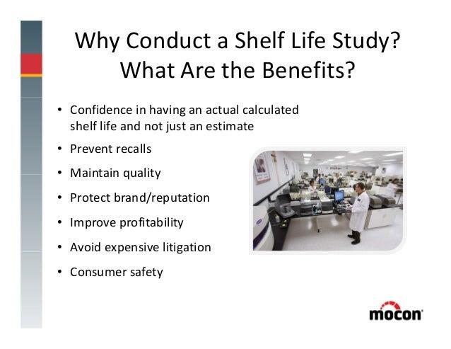 Validation Protocol to Determine the Shelf Life of ...