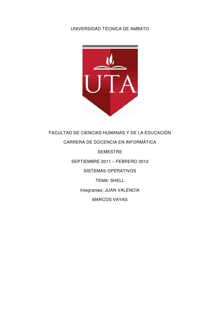 UNIVERSIDAD TÉCNICA DE AMBATOFACULTAD DE CIENCIAS HUMANAS Y DE LA EDUCACIÓN     CARRERA DE DOCENCIA EN INFORMÁTICA        ...