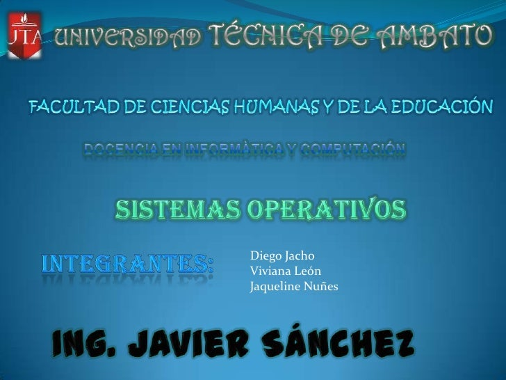 Diego JachoViviana LeónJaqueline Nuñes