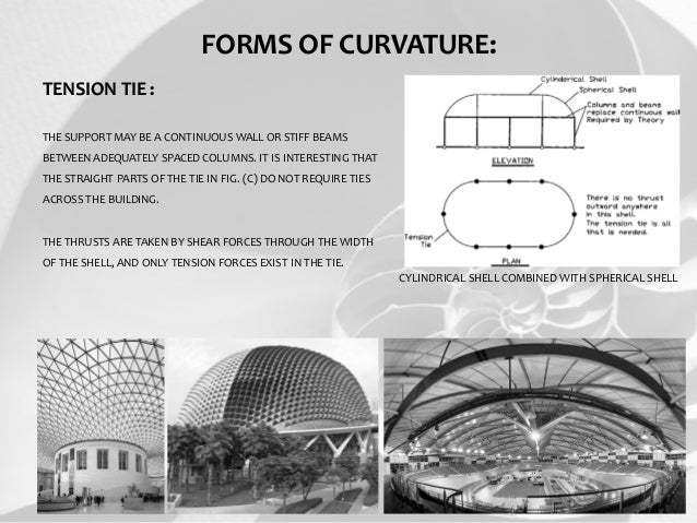 shell structures Chapter 4 – structural modeling and analysis 4-6  a horizontally curved structure should be defined better by shell elements in comparison with straight elements.