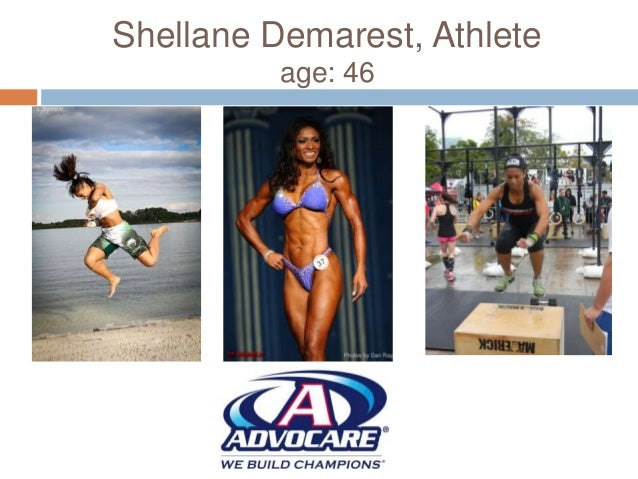 Shellane Demarest, Athlete age: 46