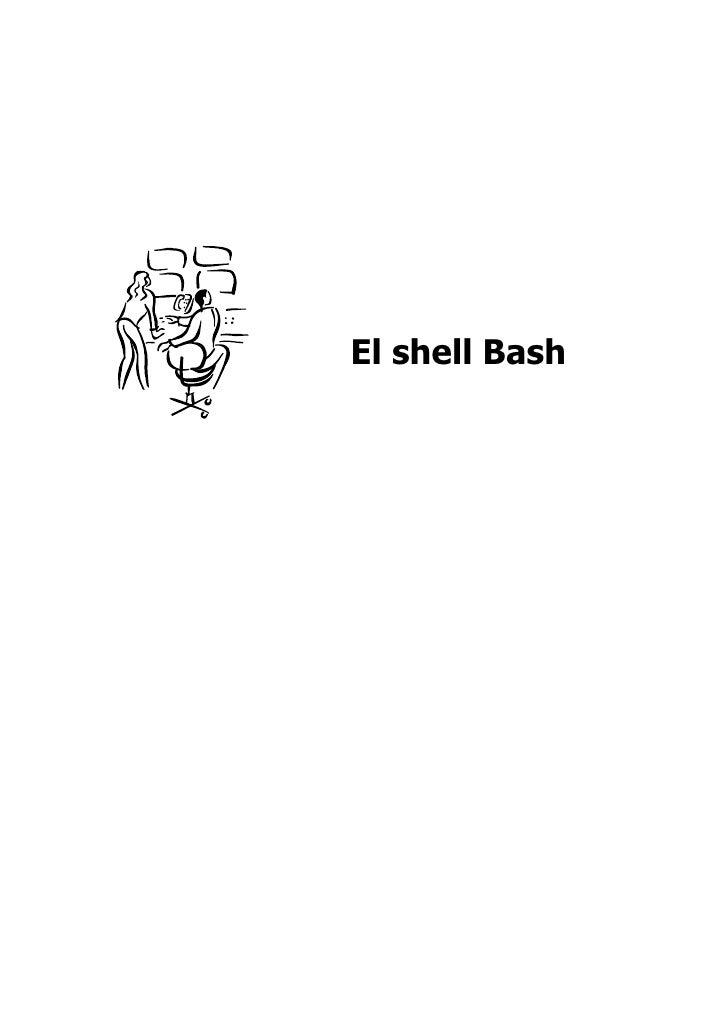 El shell Bash
