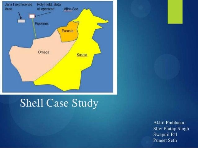 Analysis case study shell oil company