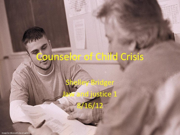Counselor of Child Crisis                                              Shelley Bridger                                    ...